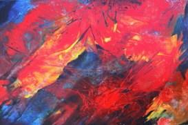 Savage Garden, 24 x 36, acrylic on canvas