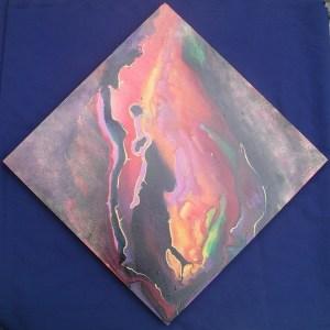 Dancing Lava, 20 x 20 in ,acrylic,sm